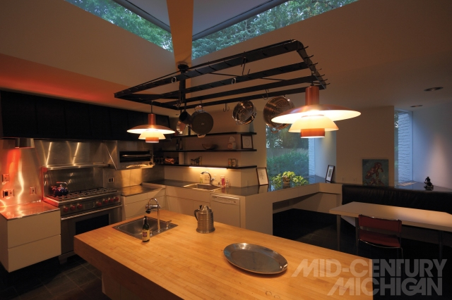 Gunnar Birkerts - Freeman House - Kitchen 0